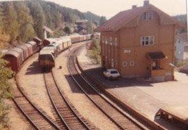 Hen stasjon 1983.