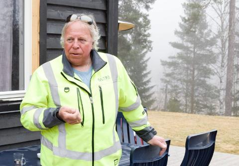 TIL RETTE: Arnfinn Baksvær (Ap) mener det ikke kan være tvil om at datasenteret har tatt seg til rette.