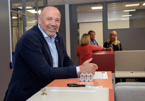 Tror ikke på prisøkning: Kraftverksjef Ole Sunnset tror ikke etterspørselen etter kraft til datasentre nødvendigvis betyr prisøkning for den vanlige forbruker.