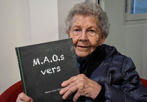 DIKTSAMLING: Maren Olerud har gitt ut diktsamlingen M.A.O.s vers.