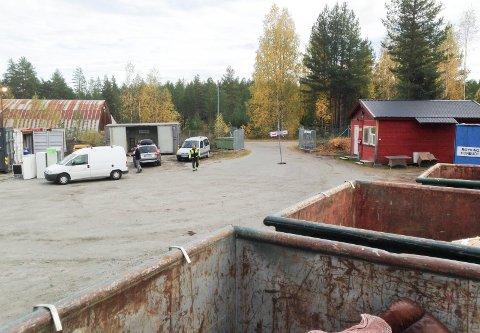 KORTREIST: Gjenvinningsstasjonen på Nes er et kortreist tilbud for befolkningen i øvre Ådal.