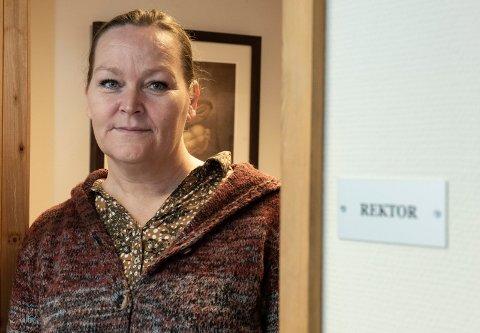 TOK GREP: Rektor på Veienmarka ungdomsskole, Hege Margrethe Steiro.