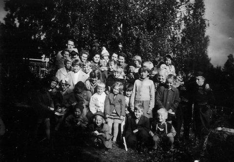 MANGE BARN: Søndagsskolen på Viul hadde et år hele 120 barn innskrevet.
