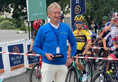 AVLYSER: Birger Hungerholdt og Ringerike Sykkelklubb ser seg nødt til å avlyse Ringerike Grand Prix og Sundvollen Grand Prix i september.