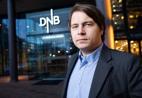 Kommunikasjonsrådgiver Vidar Korsberg Dalsbø i DNB.