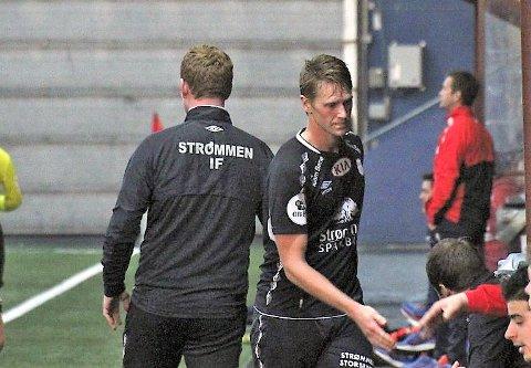 GJORDE JOBBEN: Magnus Solum scoret ett av tre Strømmen-mål i omgangen han spilte.