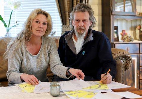 LENGE: Camilla og Ole Korgerud har jobbet i mange år med denne saken. Nå er den endelig avgjort i retten, og de to er fornøyd med erstatningen de får.