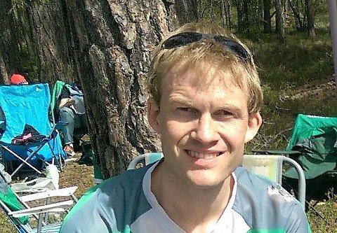 SØLV: Knut Holth Rekaa ble toer i KM i orientering, mellomdistanse. Foto: Torgeir Strandhagen