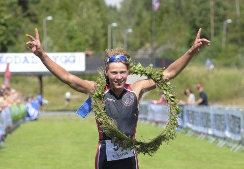 LAURBÆR: Kristoffer Liset  fra Re vant Gråtassen Triathlon for andre gang, og  satte ny løyperekord.  Alle foto: Per Langevei