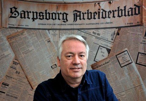 Redaktør i Sarpsborg Arbeiderblad Bernt Lyngstad