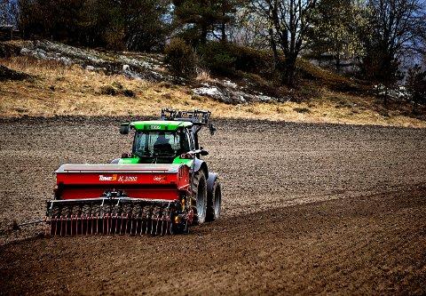 Den siste tiden er det stjålet mye dyrt GPS-utstyr fra traktorer i Østfold. (Illustrasjonsfoto)