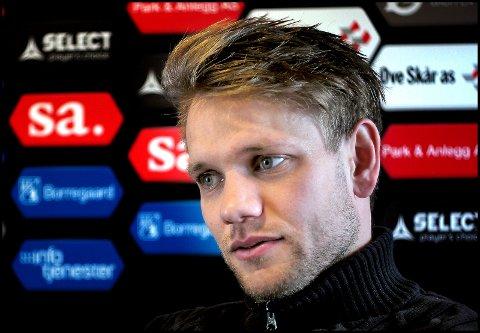 GLEDE: Ole Jørgen Halvorsen gleder seg veldig til torsdagens kamp mot Besiktas.