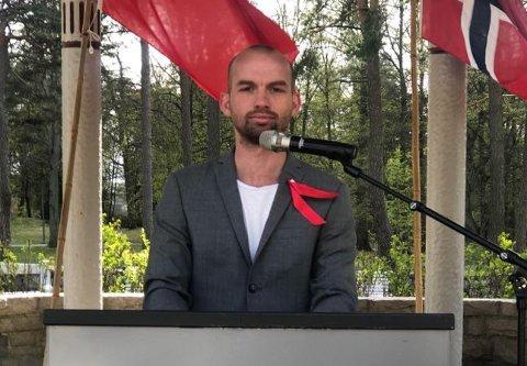 Klaus Lintho, leder i LO i Sarpsborg. (Foto: Privat)