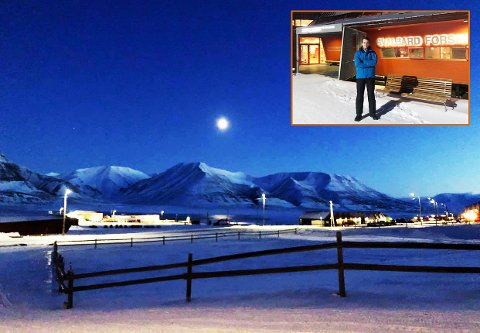 Ole Petter Maugsten fra Øvre Tune studerer arktisk teknologi på Svalbard.