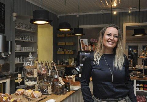 NY LEDER: Monica Honningsvåg, her fotografert på Villa Mat og Mer, skal jobbe med en utvidet næringssatsing i Eidsberg.