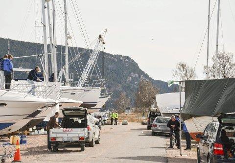PANT FOR BÅT: Det er nå mulig for båteiere og få levert inn vrakbåter og få en pant fra staten for jobben. Illustrasjonsfoto