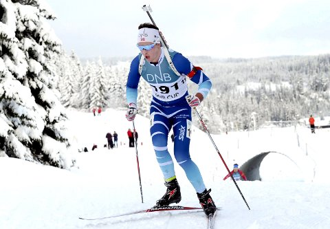 ER I FORM: Aslak Nenseter ble nummer fire under sesongens andre renn i IBU-cupen (b-verdenscupen).