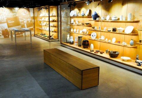 ENESTE: Porselensmuseet er det eneste helårsåpne museet i Grenland.