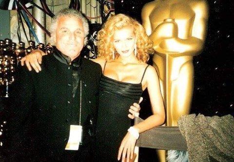 VERTINNE: Haugen var vertinne ved tre Oscars og tre Emmy´s. Foto: Privat