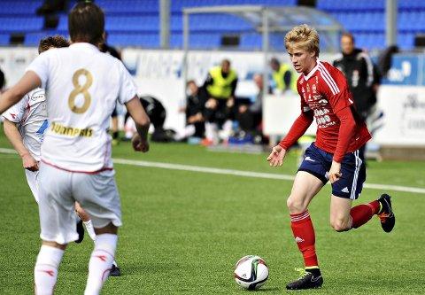 Jan Kristian Sørli og KFK tapte 0–2 borte for Spjelkavik. Arkivfoto: Trygve Strand Joakimsen
