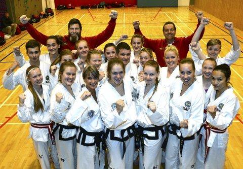 TIL NM: Surnadal Taekwondoklubb stiller med 30 deltakere til NM og Landsmesterskap i Molde helga 3.–5. november.