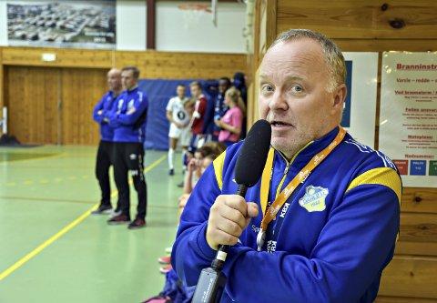 Vil evaluere: Sportslig leder Rune Lysø i Dahle IL sier det er pinlig og beklagelig at spillere ikke klarer å oppføre seg når det spilles fotball innendørs.