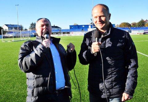 Rune Edøy og Lars Helge Høvik vil være tett på KBK også i år.