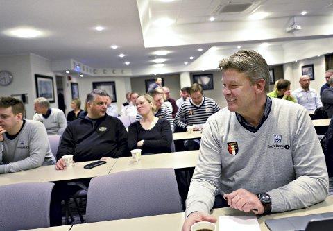 KBK-leder: Finn Backer og styret i KBK har begynt å diskutere satsing på damefotball i Kristiansund, men det er for tidlig å si noe om hva som skjer videre.