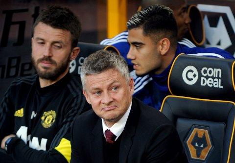 Ole Gunnar Solskjær får kritikk for ikke å ha utpekt straffeskytteren på forhånd. Paul Pogba overtalte Marcus Rashford til å la ham ta straffe mot Wolverhampton og misset i 1-1-kampen.