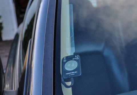 JORDA: Jo da, antenna er jorda, garanterer spesialistbutikken som monterte anlegget i bilen.