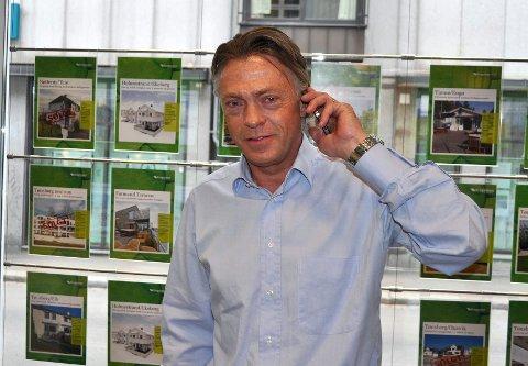 GODT MARKED: Boligmarkedet i Tønsberg holder seg godt og boligprisene har steget med 4,8 prosent i løpet av det siste året. – Dette tyder påat Tønsberg er et attraktivt sted å bo, sier daglig leder Jørgen E. Petterson i Krogsveen Tønsberg.
