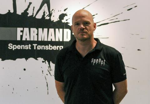 UNDERSKUDD: Daglig leder Dag Petter Søderman i Spenst Tønsberg har klart å redusere underskuddet han hadde i 2015 og ser nå positivt på fremtiden.