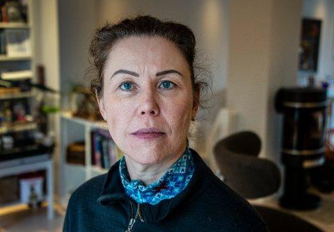 KORONASYK: Cecilie Flo Jahreie fra Kråkerøy hadde aldri trodd at hun skulle bli så dårlig av korona som hun ble. Legene sier hun kan regne med å slite med pusten i lengre tid fremover.