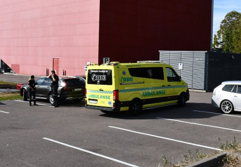 To syklister var involvert i ulykken.