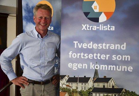 Knut Aall: Er ikke lenger medlem av noe politiske parti, men har ingen problemer med at det er andre på Xtra-lista som fortsatt er medlemmer. Arkivfoto