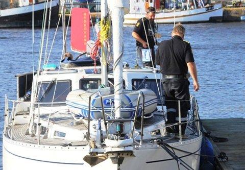 Seilbåten til litt over en halv million kroner ble beslaglagt.