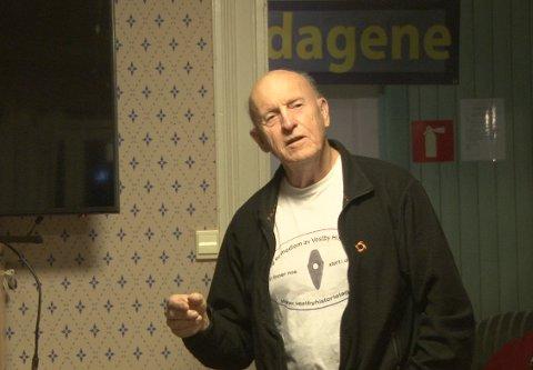Mange hadde historier å dele, og forteller Tore Rahn sørget for å binde sammen kvelden.