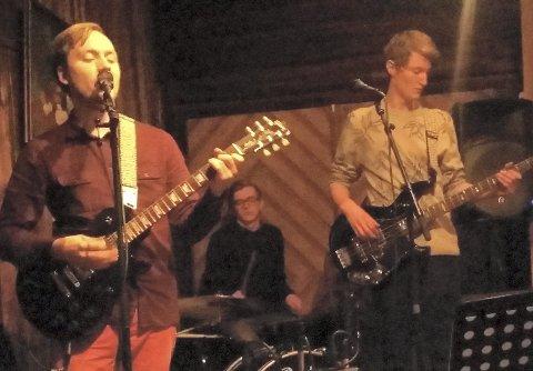 DAB: Rørosbandet DAB, bestående av Trygve Joachim Andersen (t.v.), Hallvard Løberg Näsvall og Øyvind Hånes, stilte med egenkomponerte låter.