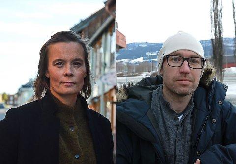 """Kommuneoverlegene Anne Lajla W. Kalstad og Tor Halvor Bjørnstad-Tuveng håper så mange som mulig velger å vaksinere seg når """"korona-vaksinen"""" kommer en gang til neste år."""