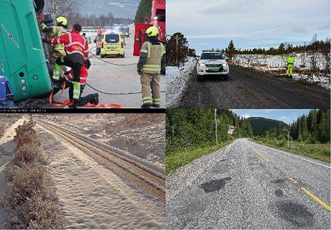HAR PRIORITERT: Arbeidsutvalget i Regionrådet for Fjellregionen har bestemt seg for hvilke fylkesveger de prioriterer oppgraderinger av.
