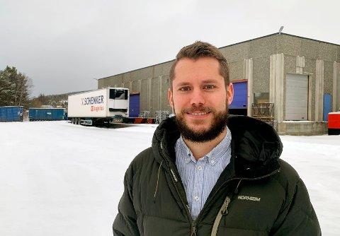 Mats Thun Hjorthol, leder for mekanisk avdeling på Flokk Røros.
