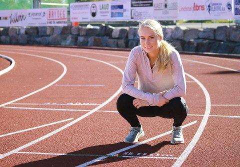 STORE MÅL: Anne Hjorth Arntsen (18) satser på å kvalifisere seg til U20-VM i den kenyanske hovedstaden Nairobi, som går i juli neste år.