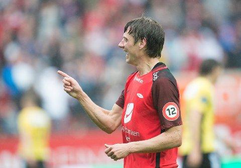 Jakob, her representert ved tidligere Brann-spiller Orlov, er mest populære guttenavn i Bergen.