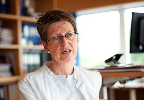 Britt Skadberg har jobbet som øverste leder ved Barneklinikken i en årrekke.  Arkivfoto: RUNE JOHANSEN
