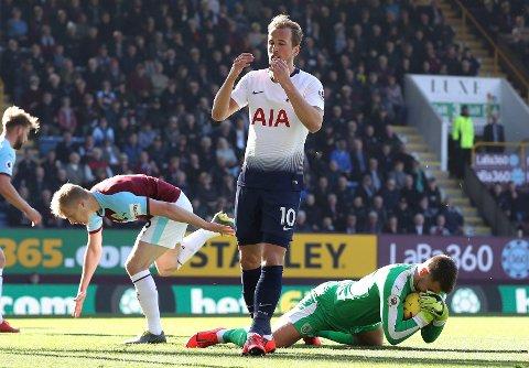 Tottenham Hotspur og Harry Kane har en elendig statistikk på Stamford Bridge.  (Martin Rickett/PA via AP)