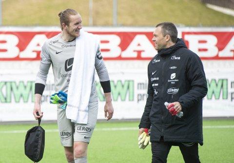 I Håkon Opdals skadefravær, gjorde Eirik Holmen Johansen flere avgjørende redninger da Brann spilte 0-0 i helgen. Søndag tyder alt på at Johansen får sjansen igjen, for Opdal er ennå ikke tilbake i trening. ARKIVFOTO: ANDERS KJØLEN