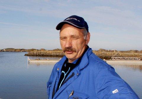 Avdelingsleder Leif Godvik ved Gunnar Klo AS avd. Stø. (Foto: Trond K. Johansen)