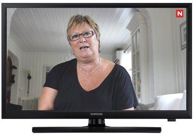 PÅ TV: Lisbeth Hansen blir en av aktørene på TV Norges nye serie over 12 episoder.