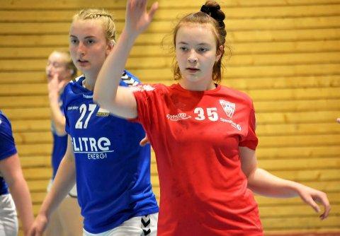 SEIER: Ida Grambo Flattum scoret to og bidro til at Vikersund sikret sesongens første seier i tredjedivisjon.
