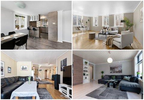 UNDER TO MILLIONER: Utvalget av leiligheter i Egersund er kanskje ikke så stort, men likevel går det an å skaffe seg en leilighet for en overkommelig pris.